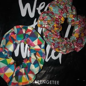 Unique Scrunchies NWOT